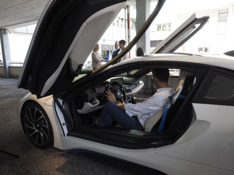 Employee Awareness Month - Electronic Car BMW i8